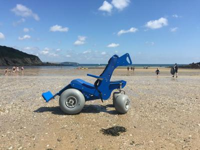 New Prototype Beach Wheelchair