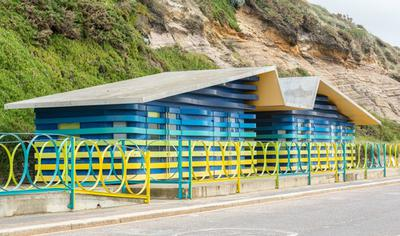 Accessible Beach Huts Boscombe Beach