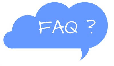 Speech bubble with FQA in centre