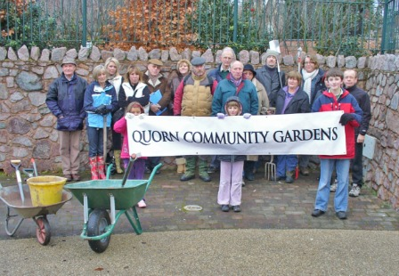 The Quorn Community Garden group