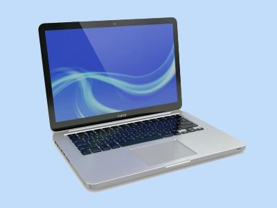 Laptop with metal casing
